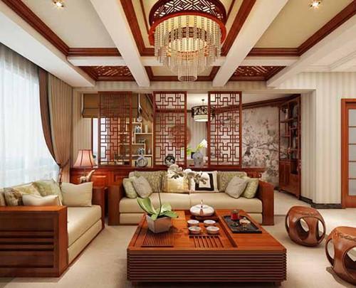 蓝浩天装饰公司教您:新中式风格适合搭配哪些家具